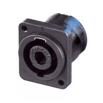 Neutrik Neutrik speakON 4-poliger Einbaustecker, D M3 - NL4MP-M3