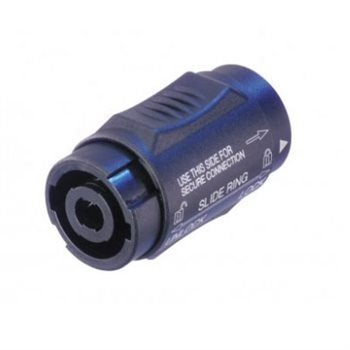 Neutrik SpeakON 4 Pole Coupler Lockable NL4MMX