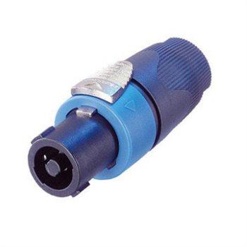 Neutrik SpeakON SPX 4 Pole Plug Cable 7-14mm NL4FX