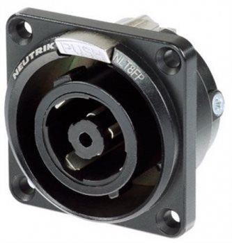 Neutrik NL8MPR Speakon Loudspeaker//Amplifier 8 Pole Panel Connector 8 Pack