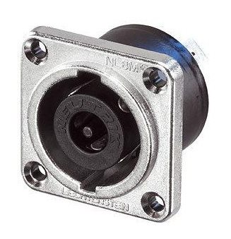 Neutrik SpeakON STX Male 8 Pole Chassis IP50 NLT8MP