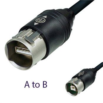 Neutrik USB 2.0 Cable 3M NKUSB-3