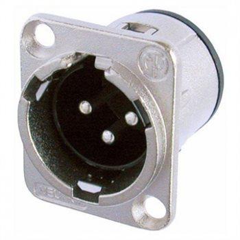 Neutrik XLR 3 Pin Male Chassis Unified PCB Mount NC3MD-V