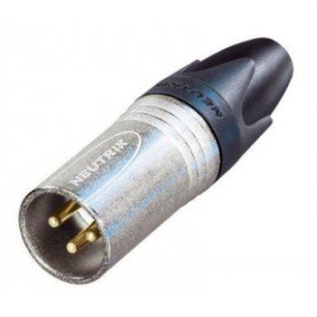 Neutrik Neutrik XLR 3-poliger Kabelstecker, Male, Digitalkabel - NC3MXX-EMC