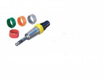 Neutrik Coloured Ring Yellow for NP Jacks PCR-4 PCR-4