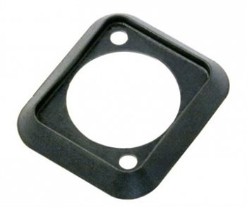 Neutrik D Size Sealing Gasket Black Dust and Water Resistant SCDP-0