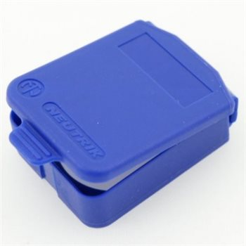 Neutrik D Sized Hinged Cover Blue SCDX-6-Blue