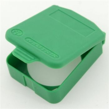 Neutrik D Sized Hinged Cover Green SCDX-5-Green