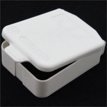Neutrik D Sized Hinged Cover White SCDX-9-White