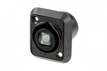 Neutrik OpticalCON -Chassis connector NO4FDW-A