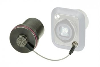 Neutrik Rugged sealing cover for OpticalCON chassis SCNO-FDW-A