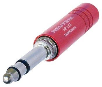 "Neutrik Neutrik 1/4"" MIL - PLUG Red NP3TM-R"