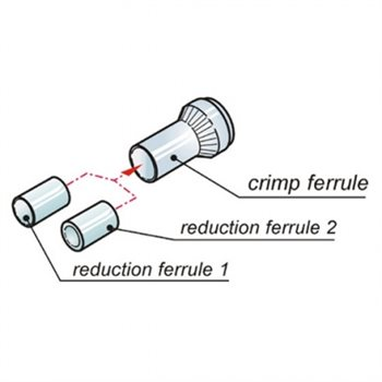 Neutrik MiniCON Set Of Strain Relief - Crimp Version MSRC