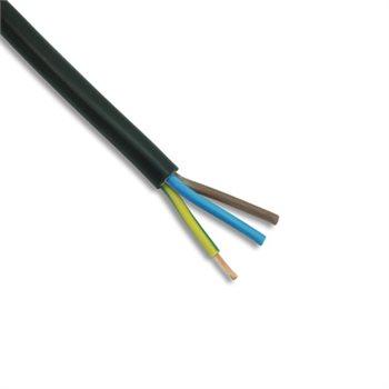 Webro 3 Core 1.5mm PVC Cable 15 Amp Black 3183Y 320020