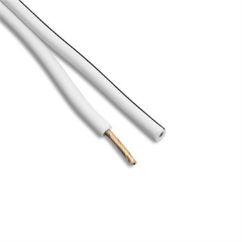 AVSL Speaker Cable Fig 8 White 2.5mm  ( 79 Strand ) 801-696