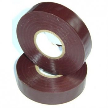 Nu-Pax - Electrical Insulation Tape PVC Brown 19mm x 33M BS3924 PVC-33M-E/tape-Bn