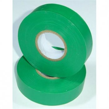 Nu-Pax - Electrical Insulation Tape PVC Green 19mm x 33M BS3924 PVC-33M-E/tape-Gn