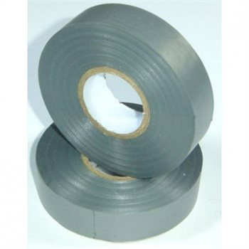 Nu-Pax - Electrical Insulation Tape PVC Grey 19mm x 33M BS3924 PVC-33M-E/tape-Gy