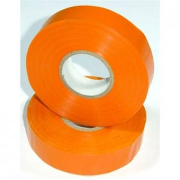 Nu-Pax - Electrical Insulation Tape PVC Orange 19mm x 33M BS3924 PVC-33M-E/tape-Or