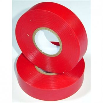 Nu-Pax - Electrical Insulation Tape PVC Red 19mm x 33M BS3924 PVC-33M-E/tape-Rd