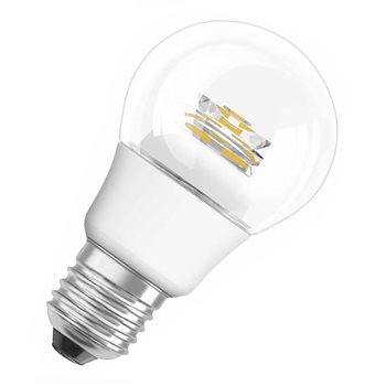 Osram LED Classic A 40 6 W/827 E27 CS Non Dim 4052899924567  - Click to view a larger image