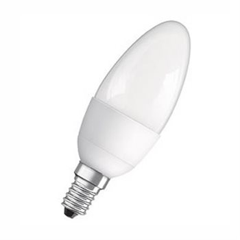 Osram Classic B 40 Non Dim 6W/27K E14 Frosted Candle 4052899912007  - Click to view a larger image