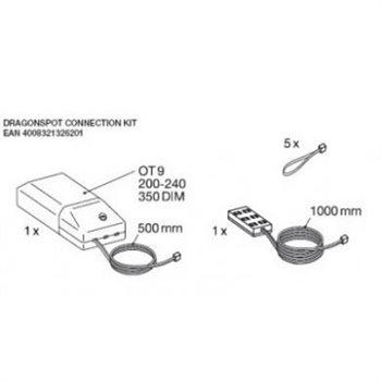 Osram LED Dragonspot Connection Kit 4008321326201