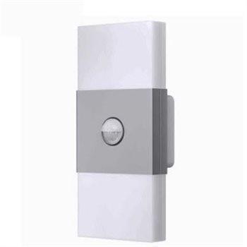 Osram NOXLITE LED Wall Double + Sensor Silver 2 x 6W 4008321998422