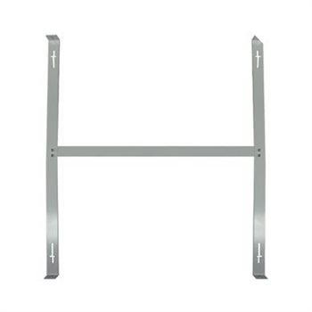 Integral LED Surface mounted H-bracket for 33&43W 600x600 Edge-lit panel 33-49-14  - Click to view a larger image