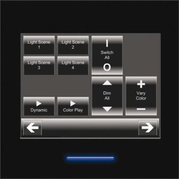 Osram EASY Touch Panel User interface for light management systems