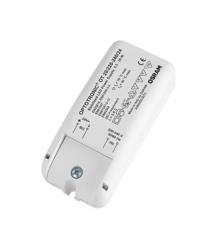 Osram Led Driver Ot 20/220-240/24 24v 20w 4050300618111  - Click to view a larger image