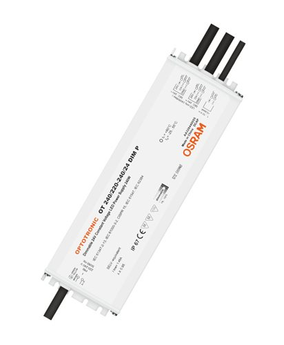 Osram OT 240/220-240/24 DIM P 24V 240W IP67 Dimmable PSU 4008321981714