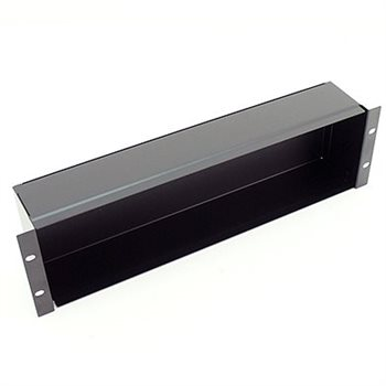 Penn Elcom 2U Plain Rack Panel Back Box R2680-2U  - Click to view a larger image