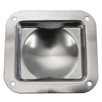 Penn Elcom Recess Castor Dish W0964Z  - Click to view a larger image