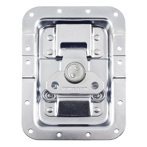 Penn Elcom Large MOL® Recessed Butterfly Latch Offset L944/537MOL  - Click to view a larger image