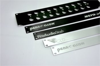 Penn Elcom 1U Laser Etched Aluminium Brushed Rack Panel R1275-1UAKLAZ