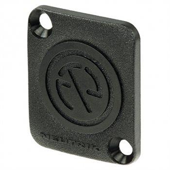 Neutrik Blanking Plate Screw Fit Black Plastic DBA-BL