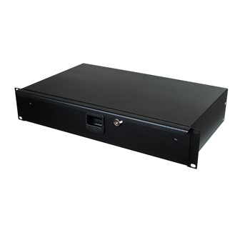 "Penn Elcom 2U Rack Drawer 254mm/10"" Deep R1292K/10  - Click to view a larger image"