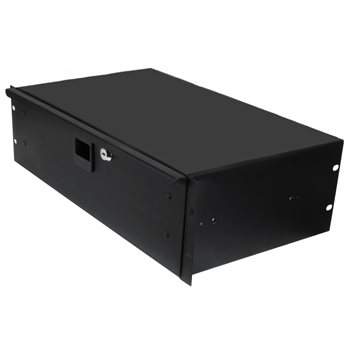"Penn Elcom 3U Rack Drawer 254mm/10"" Deep R1293K/10  - Click to view a larger image"