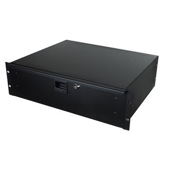"Penn Elcom 3U Rack Drawer 367mm/14"" Deep R1293K  - Click to view a larger image"