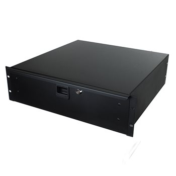 "Penn Elcom 3U Rack Drawer 455mm/18"" Deep R1293K/18  - Click to view a larger image"