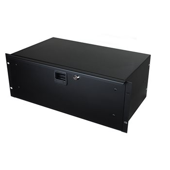 "Penn Elcom 4U Rack Drawer 254mm/10"" Deep R1294K/10  - Click to view a larger image"