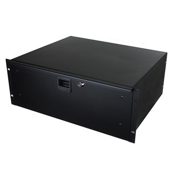 Penn Elcom 4U Rack Drawer 367.4mm deep with Lock and Key R1294K R1294K  - Click to view a larger image