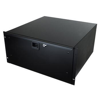 "Penn Elcom 5U Rack Drawer With Slam Lock 455mm/18"" Deep R1295K/18  - Click to view a larger image"