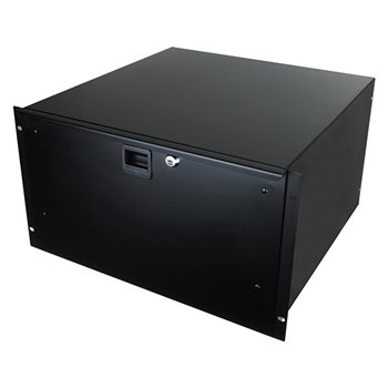 "Penn Elcom 6U Rack Drawer 455mm/18"" Deep R1296K/18  - Click to view a larger image"