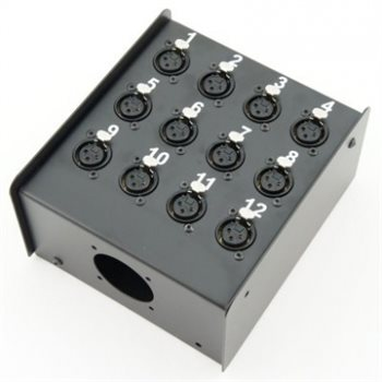 Penn Elcom Neutrik Loaded 12 Way Stage Box