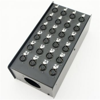 Penn Elcom Neutrik Loaded 24 Way Stage Box
