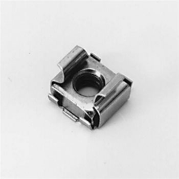 Penn Elcom M6 Cage Nut M6 for 2.7 - 3.5mm Rack Rail S1025