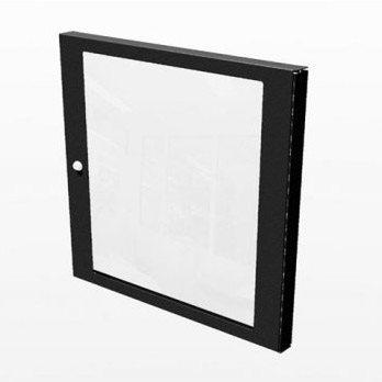 Penn Elcom 10U Polycarbonate Rack Door for R8400 & R8500 Racks R8450/10  - Click to view a larger image