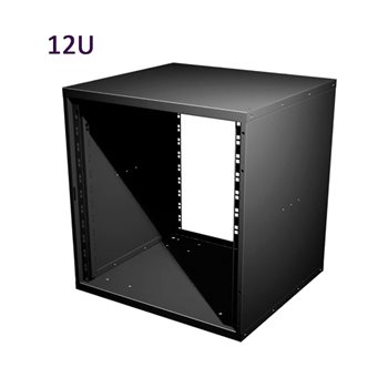 "Penn Elcom 12U 19 Inch Flat Pack Rack Cabinet 480mm/18.9"" Deep R8400-12  - Click to view a larger image"